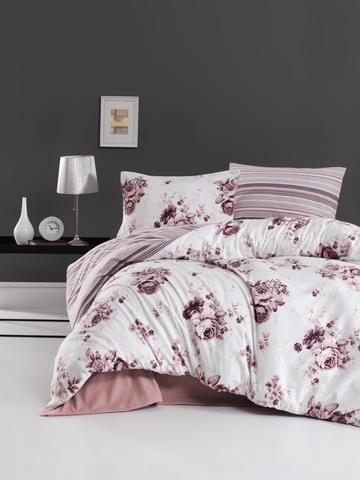 Комплект постельного белья DO&CO FLANNEL Евро (50х70/2) JADEN цвет пудра