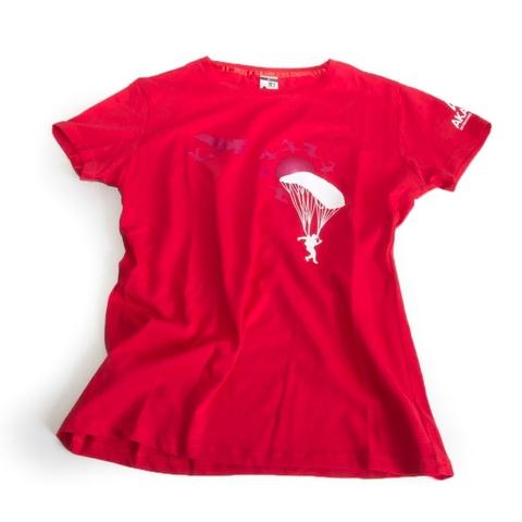 Женская парашютная футболка Akando