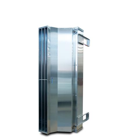 Завеса без нагрева Тепломаш КЭВ-П7011A серия 700 IP54 (Длина 1,5м) нержавеющая сталь