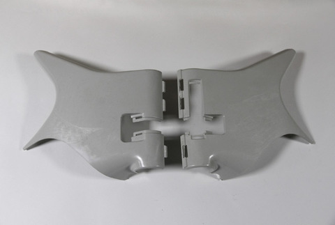 Передние декоративные элементы рамы для Honda Steed 400