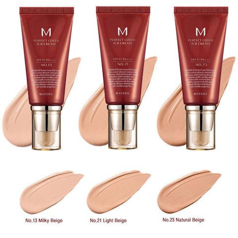 Missha, Тональный ВВ крем для лица M Perfect Cover BB Cream SPF42/PA+++ 50ml