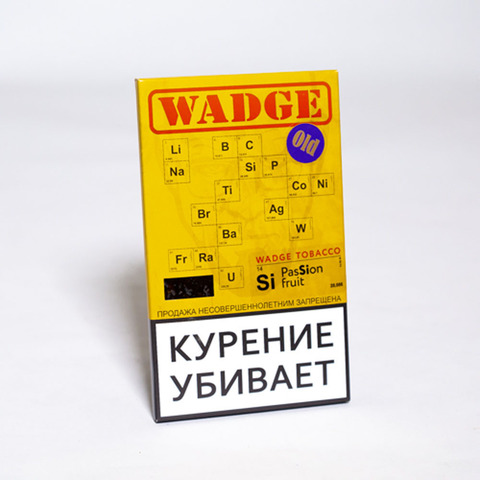 Табак WADGE OLD 100gr Passion Fruit
