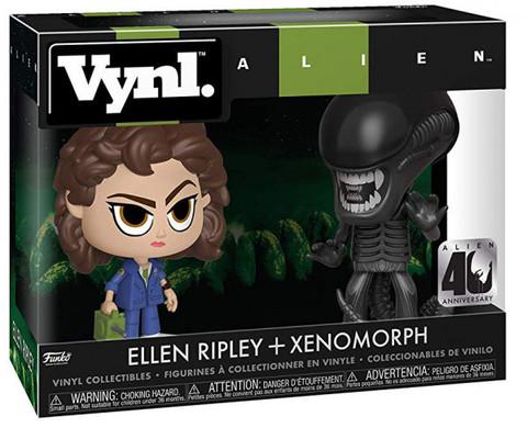 Ellen Ripley + Xenomorph 40 Year Anniversary Vynl Figure || Эллен Рипли + Чужой. Набор Фигурок