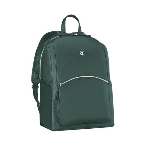 Женский городской рюкзак зелёный (18л) LeaMarie WENGER 611223