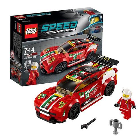 LEGO Speed Champions: Ferrari 458 Италия GT2 75908 — 1458 Italia GT2 — Лего Спид чампионс Чемпионы скорости