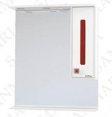 Зеркало-шкаф SanMaria Париж-65 красный, правый