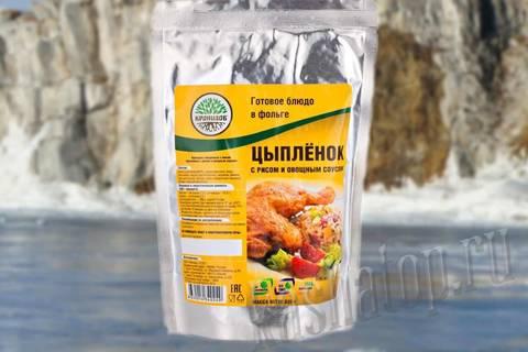 Цыпленок с рисом и овощным соусом 'Кронидов', 325г