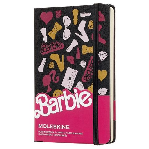 Блокнот Moleskine Limited Edition BARBIE LEBRQP012 Pocket 90x140мм 192стр. нелинованный Accessories