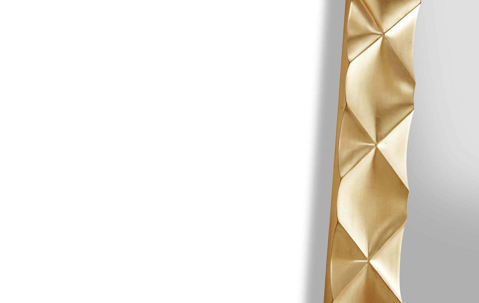 Зеркало DUPEN (Дюпен) PU182-1 золото