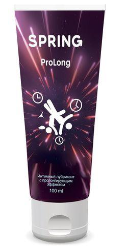 Пролонгирующий интимный лубрикант Spring ProLong - 100 мл.