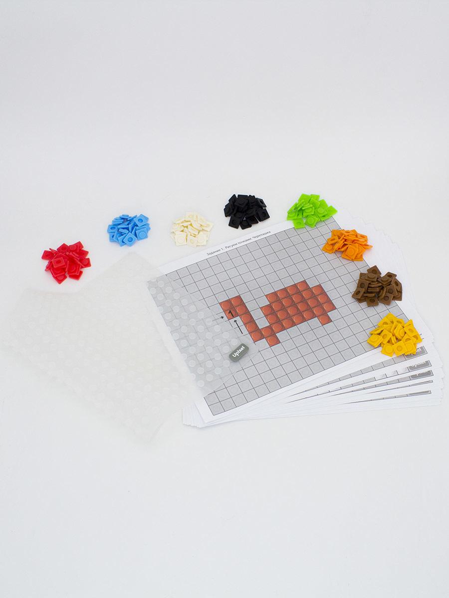 Развивающая панель-мозаика Bright Kiddo WY-K001 Кристальный прозрачный