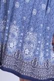 Платье для беременных 08368 синий