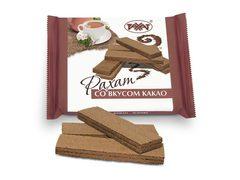 """Вафли """"Рахат"""" со вкусом какао 100г"""