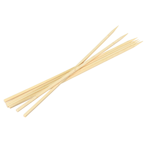 Шампуры бамбуковые 40x0,6x0,6 см, квадратные, 6 штук