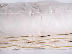 Одеяло пуховое кассетное всесезонное 145х205 Медовый поцелуй