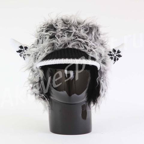 Картинка шапка с ушами Eisbar power horn 406 - 2