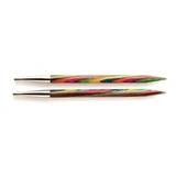Спицы KnitPro Symfonie съемные укороченные 4 мм 20424