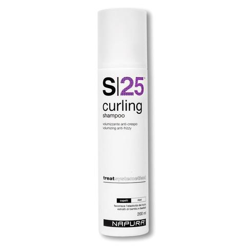 NAPURA Curling S25 Shampoo  Шампунь для вьющихся волос (SLS free) 200 мл купить за 2200руб