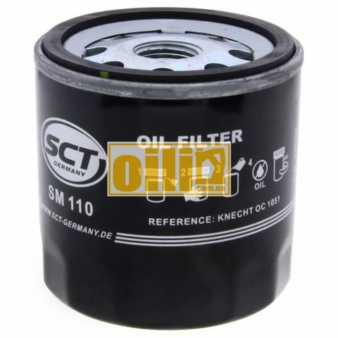 Фильтр масляный SCT SM110 (Fiat, Ford, Mazda, Skoda)