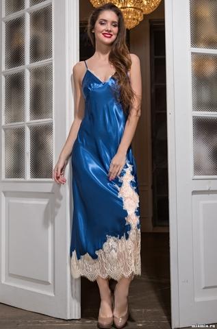 Длинная сорочка Mia-Amore 3198 CHANTA(70% шелк)
