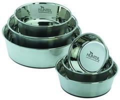 Миска из нержавеющей стали для собак, Hunter Smart, 0,35 л, диаметр 11 см