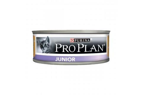 Консервы для котят Purina Pro Plan Junior, мусс с курицей,  85 г