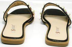 Обувь женская шлепанцы Seastar T330 black.