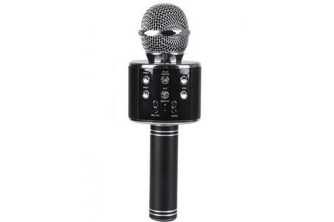 Беспроводной караоке микрофон WS-858(чёрный)