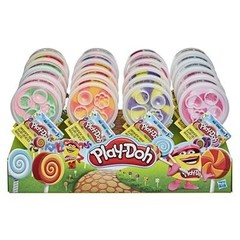 Play Doh Баночка пластилина в форме леденца Peppermint Lollipop