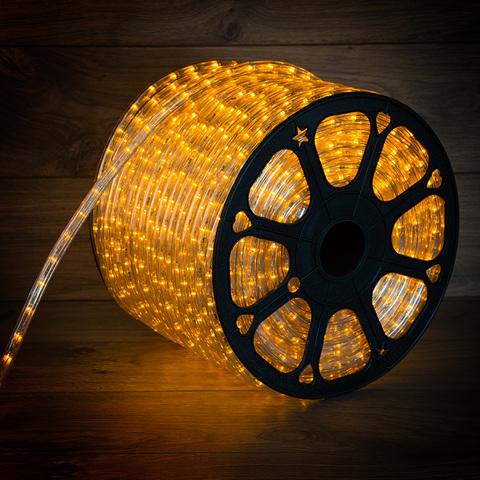 Желтый шланг силиконовая гирлянда трубка 100м