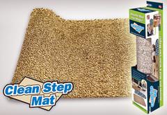 Супервпитывающий придверный коврик Clean Step Mat (Ни следа)