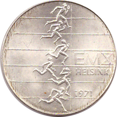 10 марок 1971 год