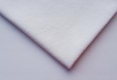 Кулирная ткань (100%- х/б) 15х15см, молочный