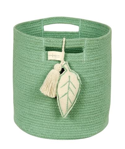 Корзина Lorena Canals Leaf Green (30 x Ø30 см)