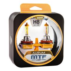 Галогенные лампы MTF Light AURUM H8 35W