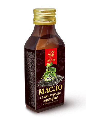Масло семян черного кунжута, 100 мл