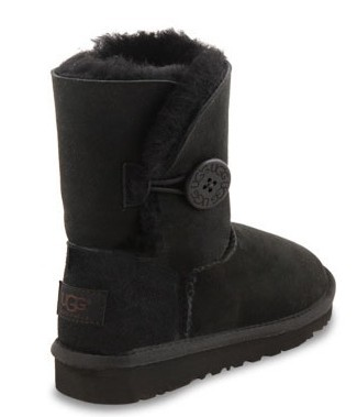 UGG Kids Bailey Button (Black)