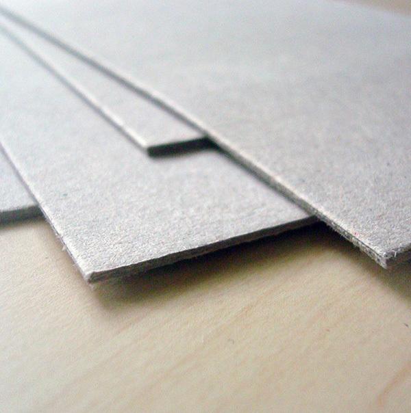 Картон для картонажа 1 мм 10х70 см