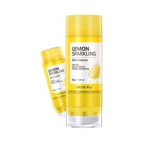 SECRET KEY Lemon Стик очищающий Lemon Sparkling Stick Cleanser 38гр