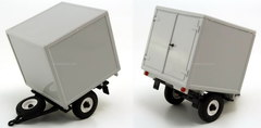 Trailer UAZ Van delivery of products, spare parts, goods 1:43 Agat Mossar Tantal