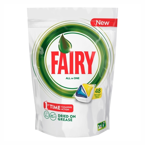 Средство д/мытья посуды FAIRY All In 1 капсулы д/посудомоечных машин 48 шт
