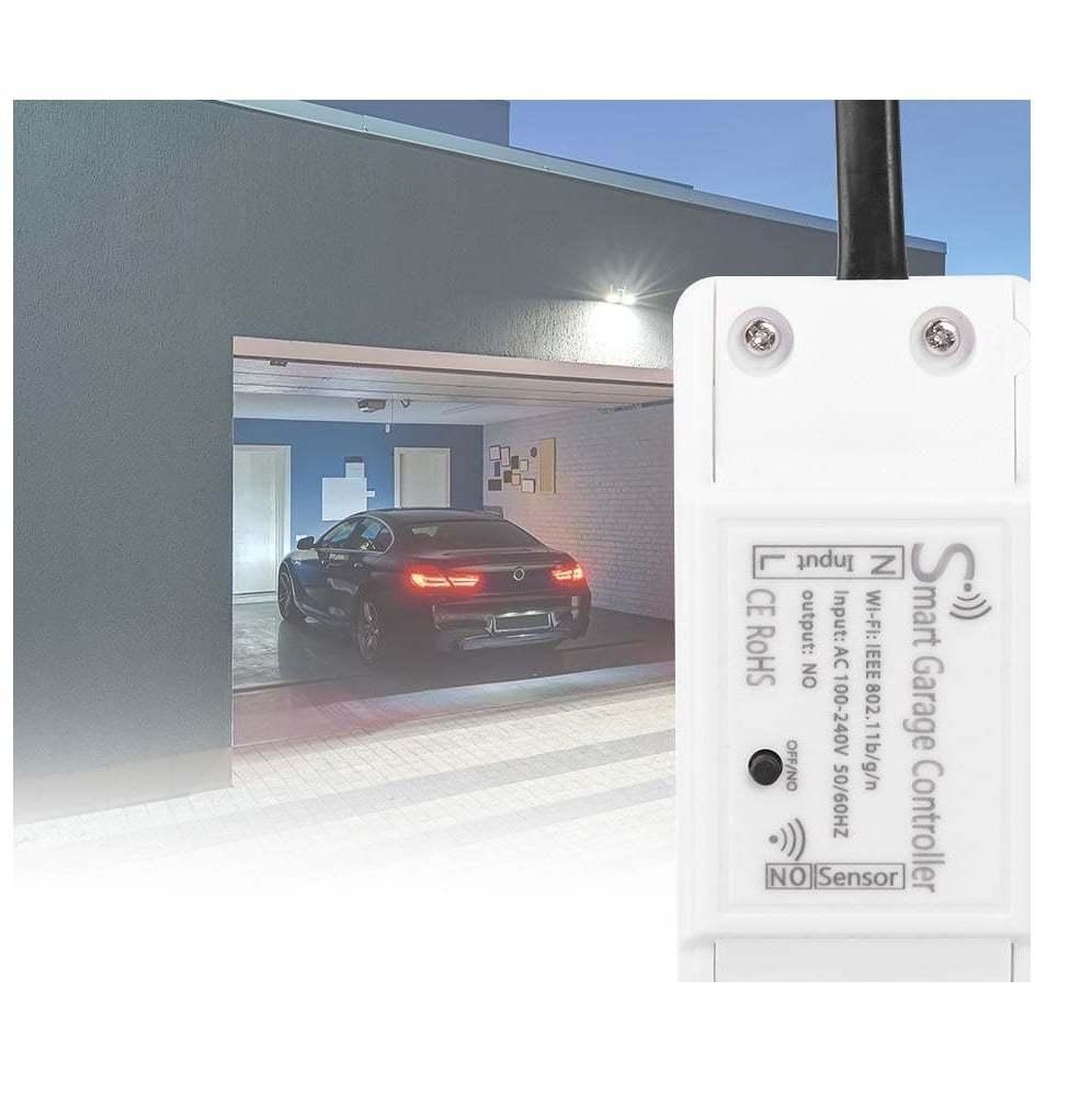 Hoovi ja garaaživäravate Wi-Fi juhtimisseade väravate asendi sensoritega. Sobib igat liiki automaatikale.
