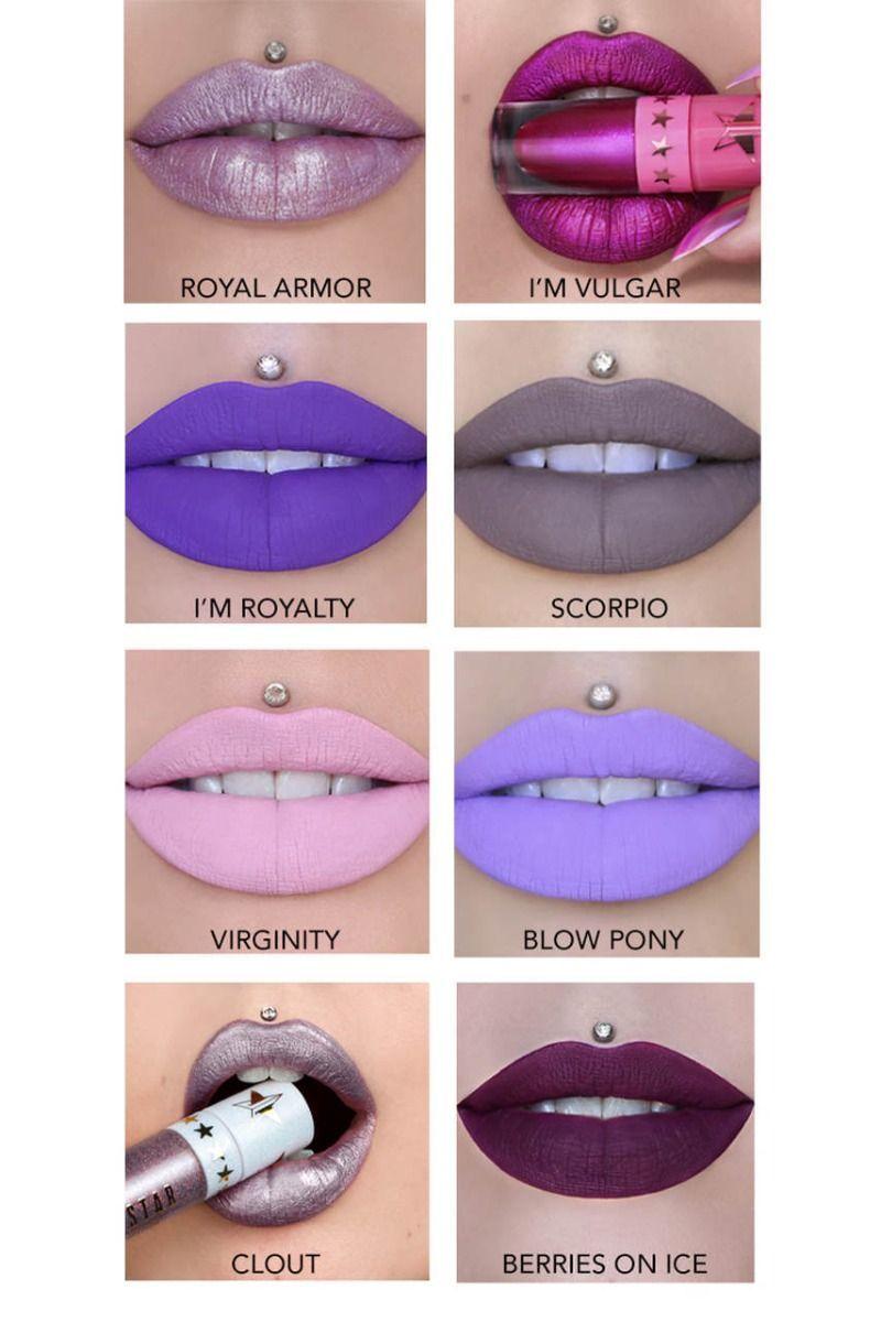 Jeffree Star Mini Purple Bundle
