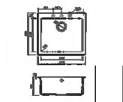 Схема Omoikiri Bosen 57-BL