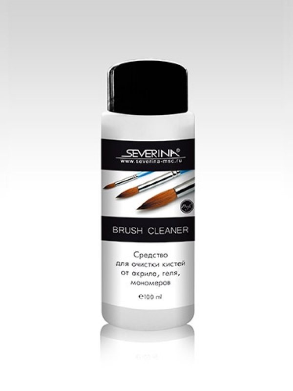 Для очистки кистей Severina, Cредство для очистки кистей от акрила, 300 мл, Brush Cleaner brush-cleaner-severina-100-ml.jpg