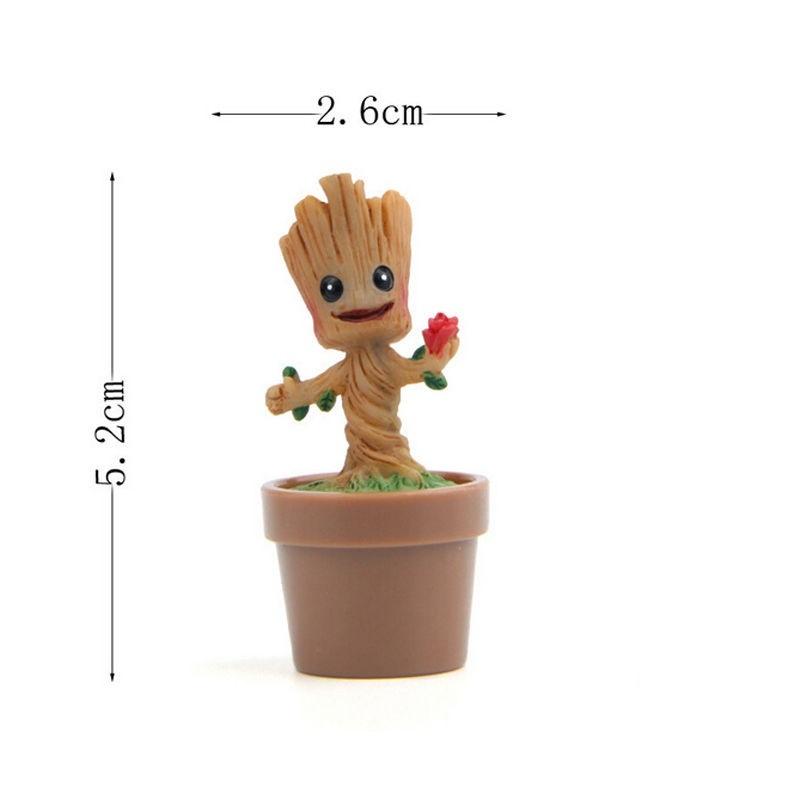 Стражи Галактики миниатюрная фигурка малыша Грута