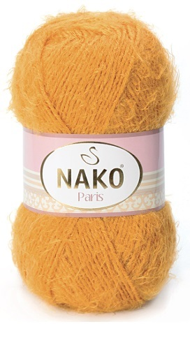Пряжа Nako Paris 1043 желтый