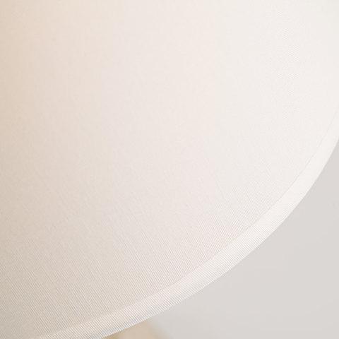 Классическая настольная лампа 01061/1 белый с золотом