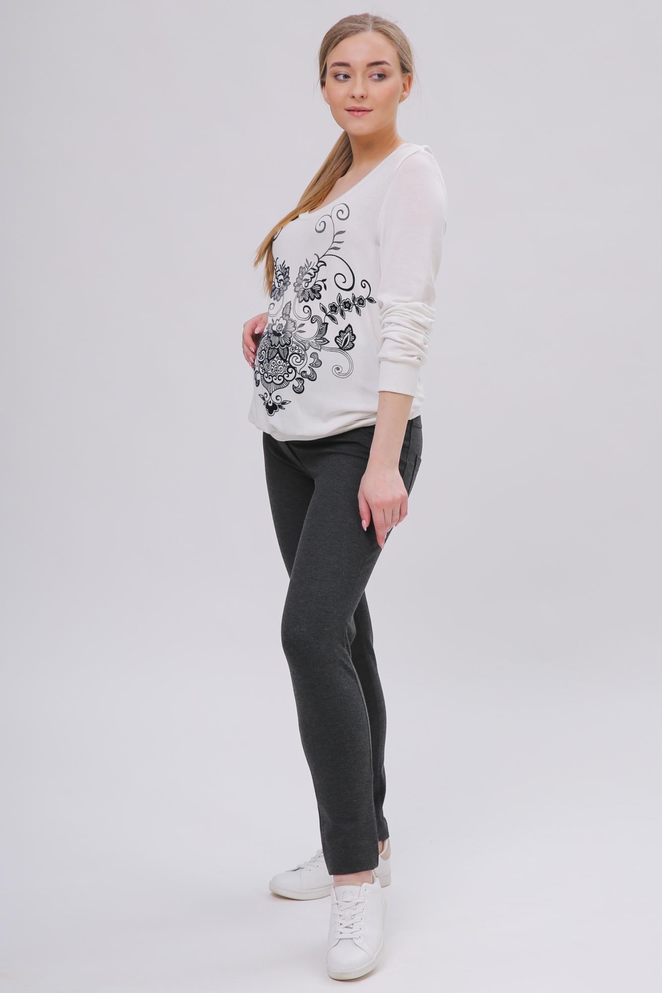 Джемпер для беременных 01817 белый