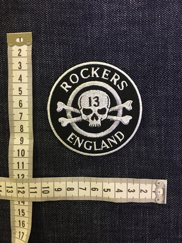 Нашивка Rockers England